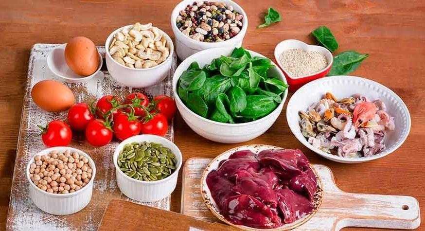 7 Alimentos ricos em ferro d