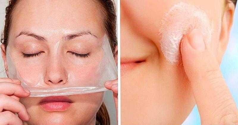 Máscara caseira para retirar cravos d