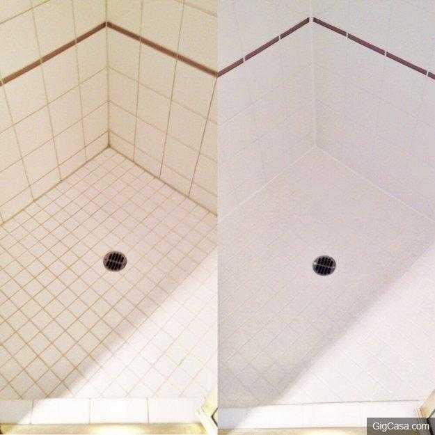 Dica caseira para limpar os azulejos de sua casa