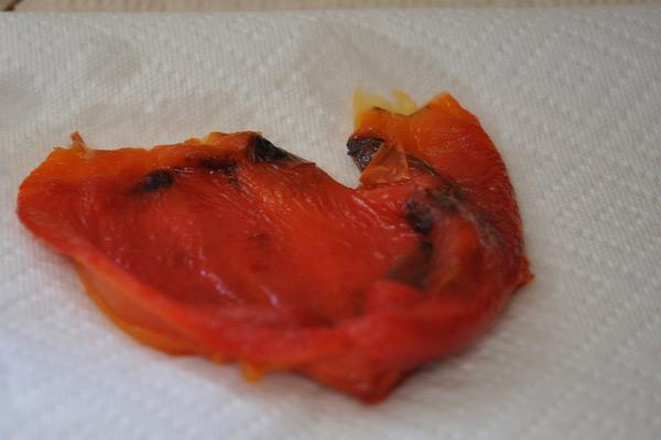 Como assar pimentão