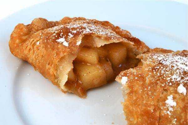 Receita de Pastel de maçã e canela