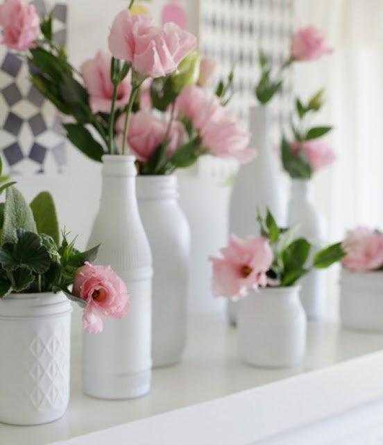 12 ideias para decorar garrafas para mesas