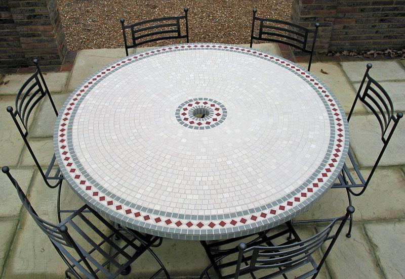 Dicas de Artesanato para Mesa de Mosaico