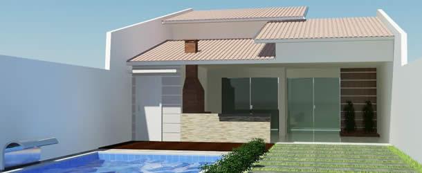Fachadas para casas pequenas e modernas: 30 fotos