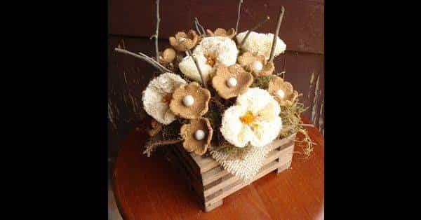 20 Artesanatos feitos com bucha vegetal