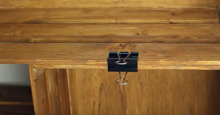 Como fazer uma prateleira reciclando caixas de madeira