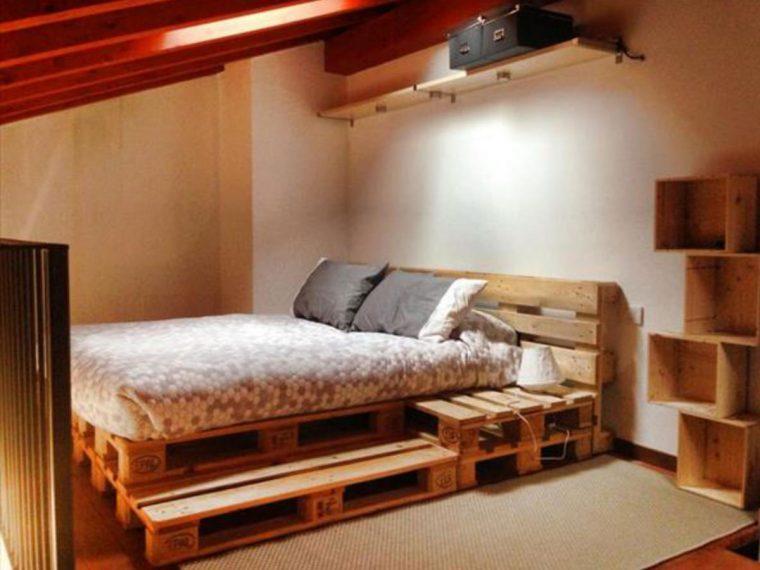 14 ideias fantásticas de camas com paletes