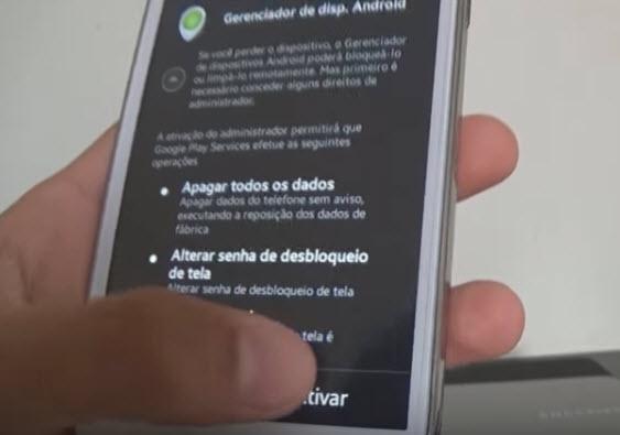 Como rastrear celular pelo google-passo9