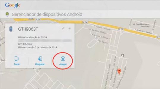 Como rastrear celular pelo google-passo14