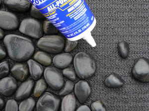 Aprenda como fazer tapete de pedra