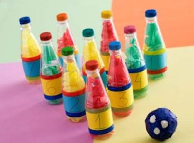 ideias de brinquedos com reciclagem para educação infantil
