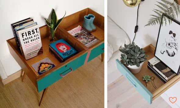 Transforme objetos antigos em móveis