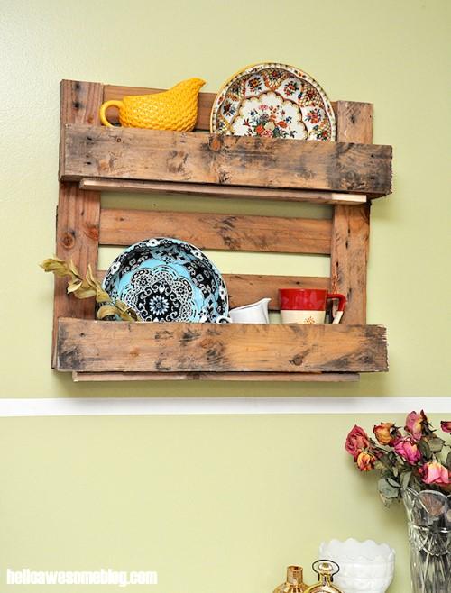 ideias de artesanatos feitos com reciclagem para decorar paredes