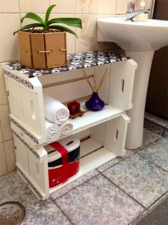 18 Ideias de artesanato para enfeitar o banheiro