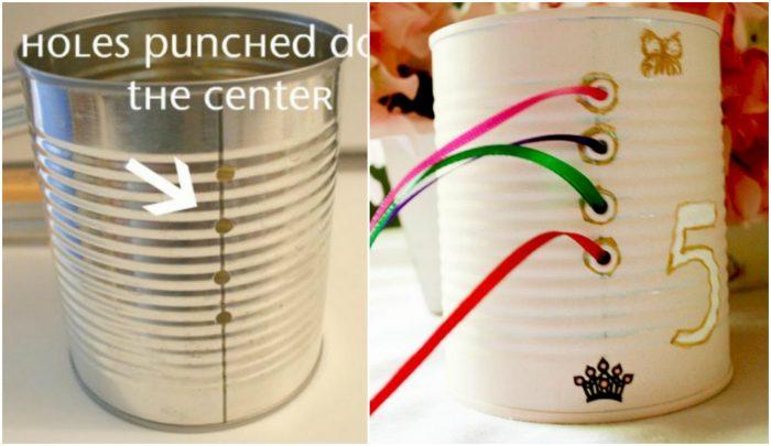 18 Ideias para reutilizar as latas velhas