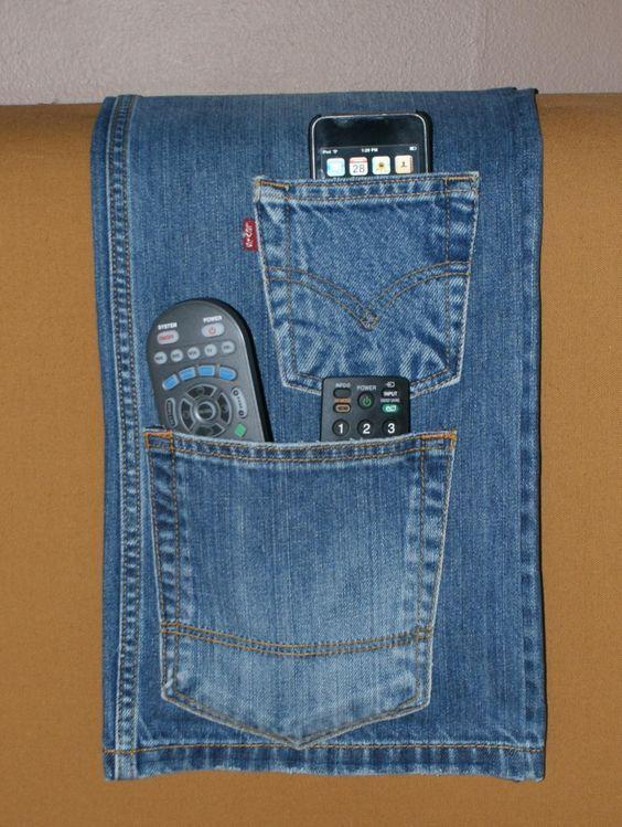 Coisas para fazer com jeans velho que você nem imaginava possível