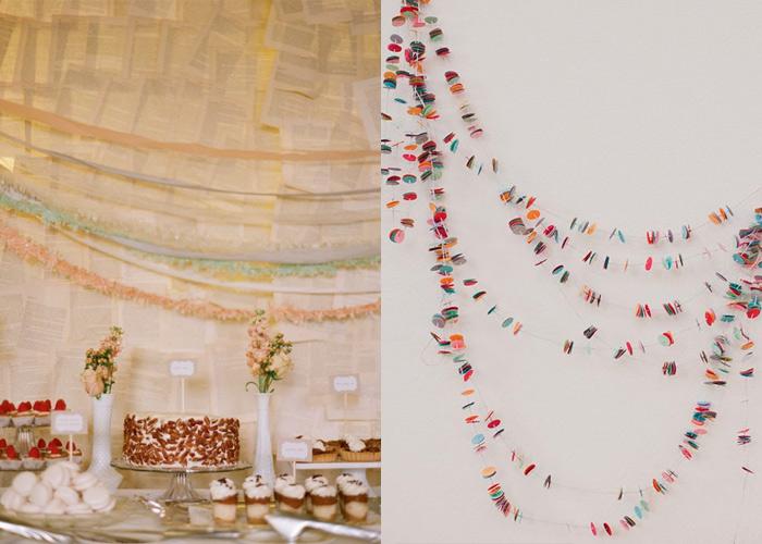 Decoração de paredes e painéis para casamento