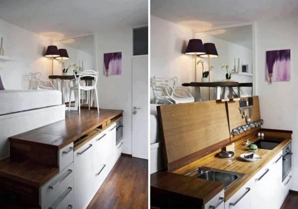 Ideias simples para poupar espaço em casa