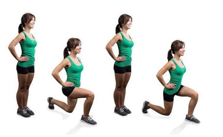 Agachamento com avanço é um dos melhores exercícios para levantar o bumbum