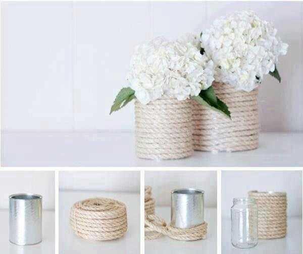 Como fazer vasos de flores criativos com dicas de artesanato q