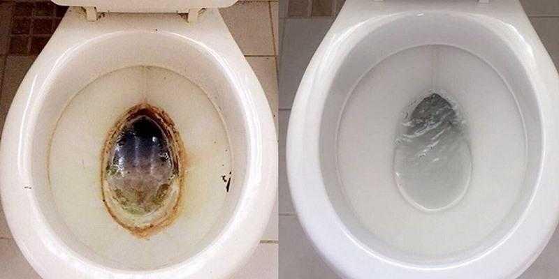 Como limpar o vaso sanitário d