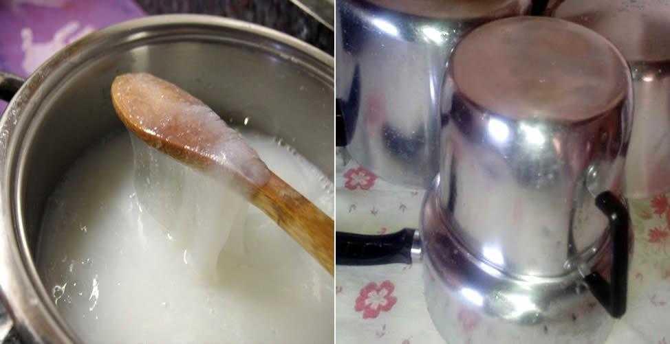 Receita simples de pasta para dar brilho ao alumínio f4 f