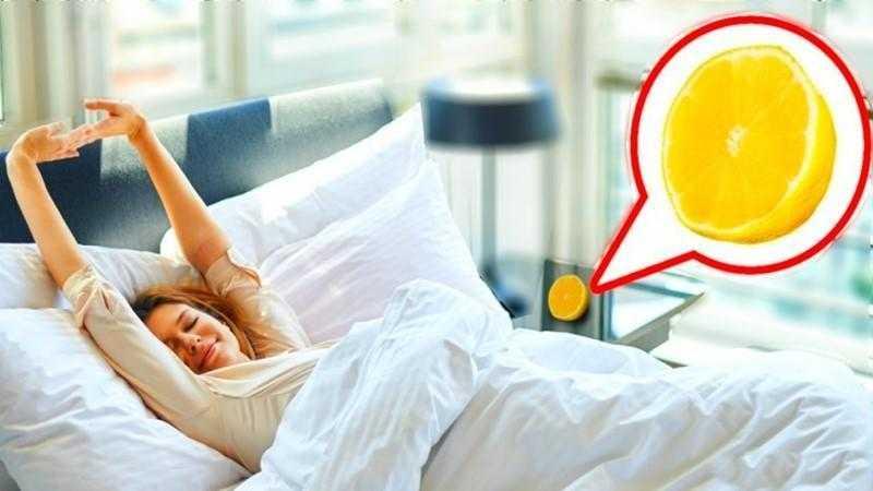 Isto é o que acontece se você colocar um limão do lado da cama D