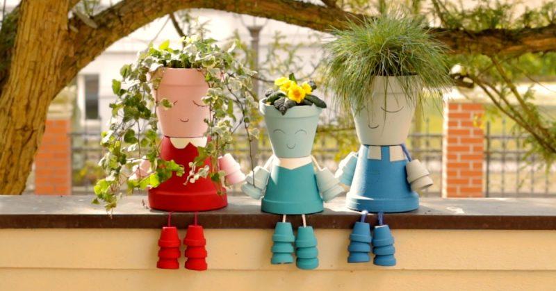 Aprenda como criar vasos lindos