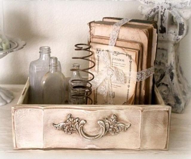 7 Ideias criativas para reaproveitar gavetas de móveis antigos