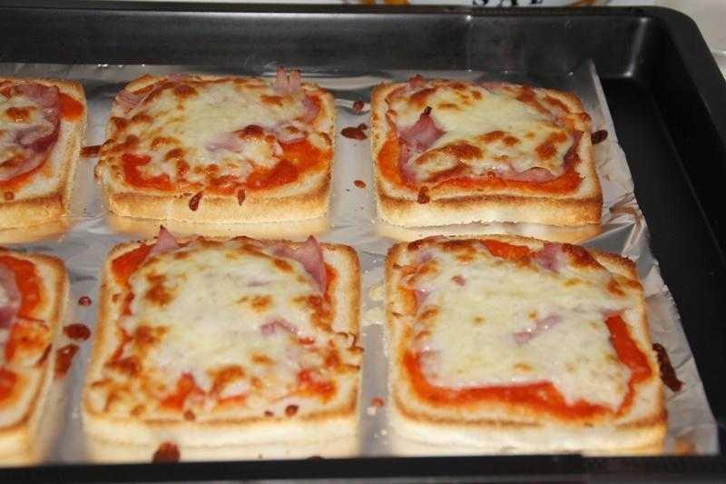 Como Fazer Pizza de Pão de Forma s