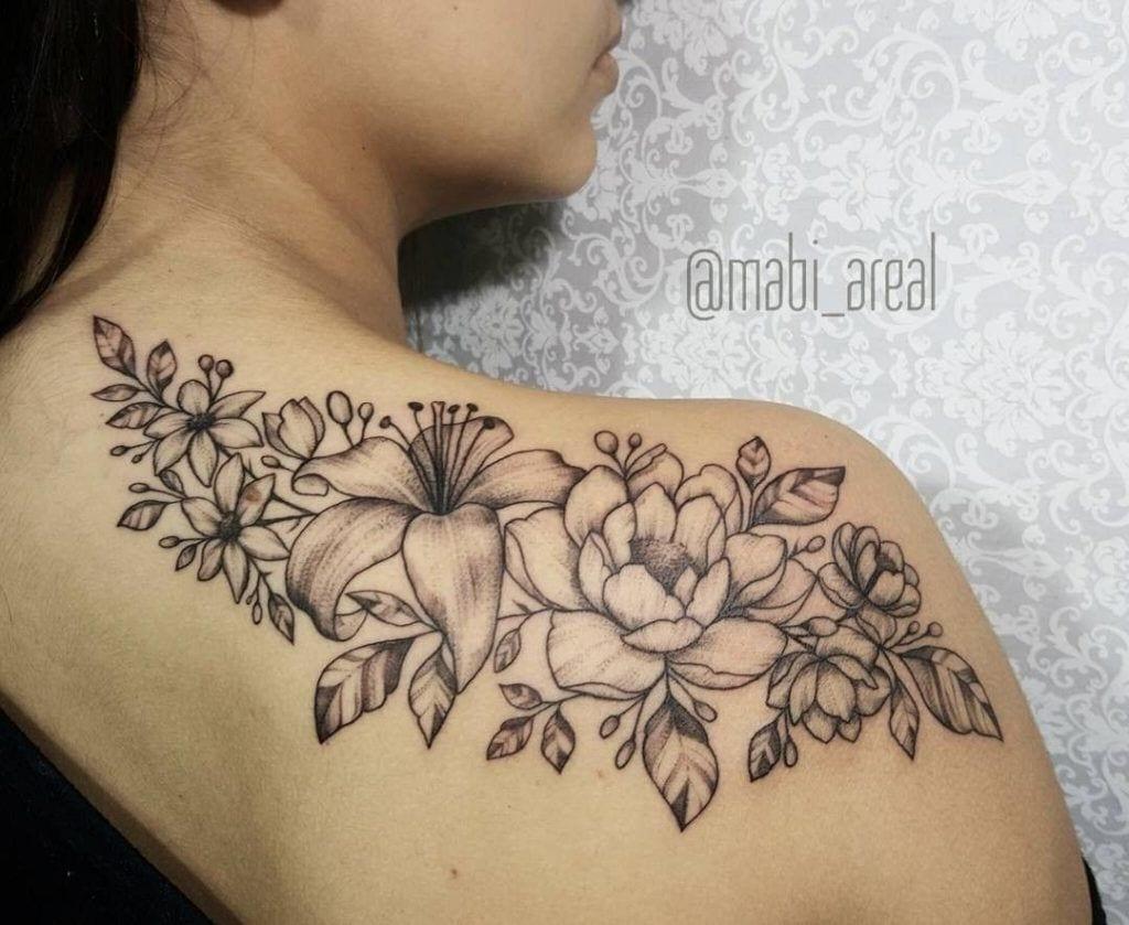 100 tatuagem de flores para você se inspirar a fazer