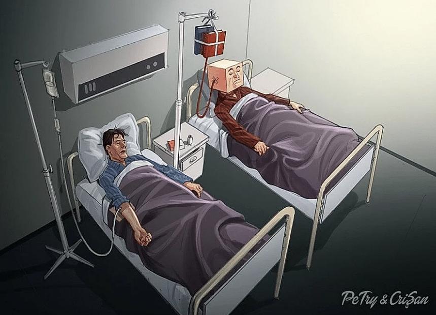 20 ilustrações perturbadoras que nos fazem encarar tristes realidades da vida