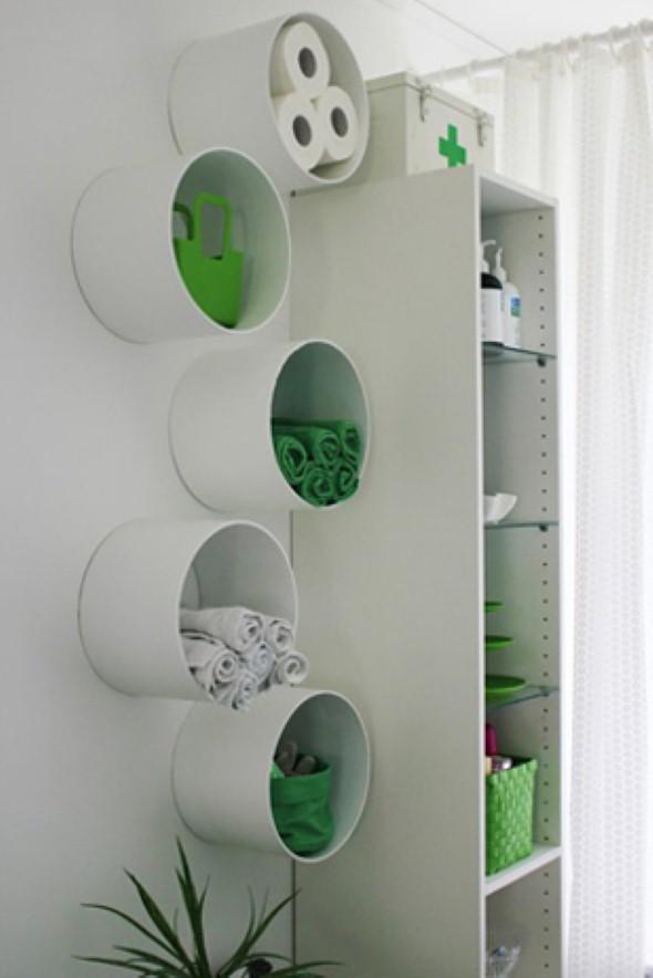Como usar canos de PVC na decoração de ambientes 017