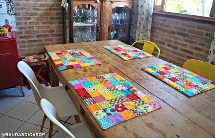 17 Ideias com retalhos de tecidos