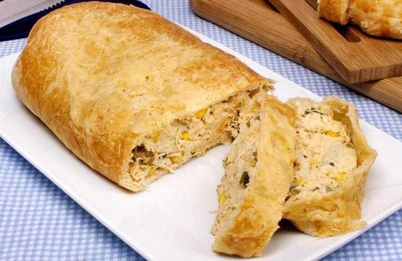 Como fazer Pão recheado com frango ds