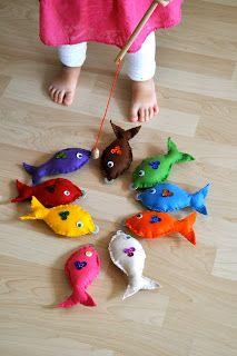 10 ideias de jogo de pescaria para crianças