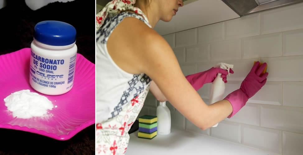 Como Eliminar Mau cheiro da Cozinha - Bicarbonato