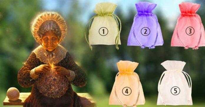 TESTE: Escolha uma bolsinha e receba um presente muito especial da avó sábia