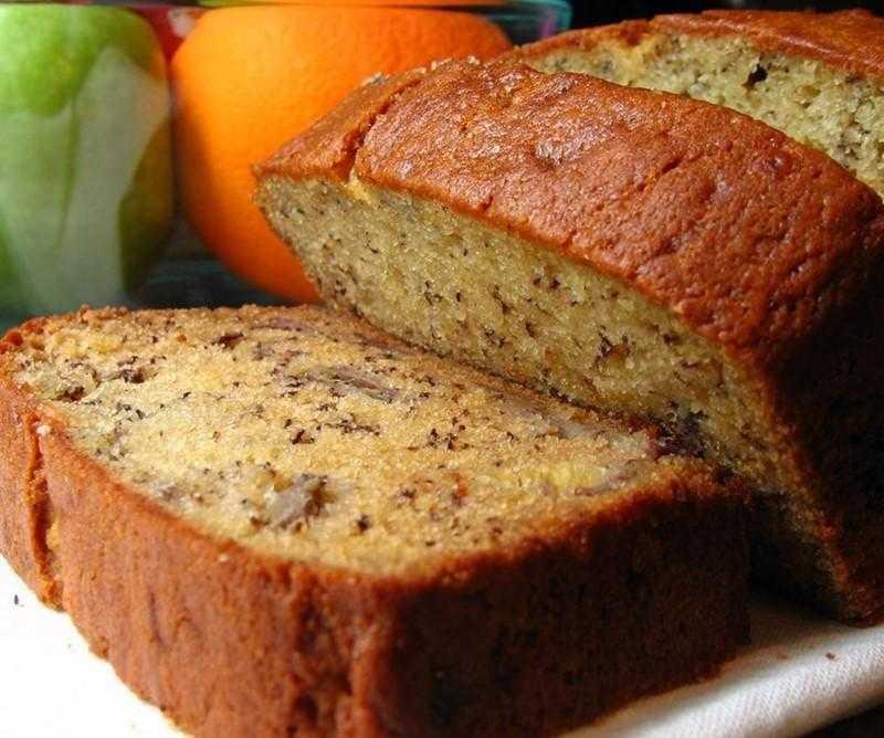 Pão de banana sem farinha, super saudável e saboroso d