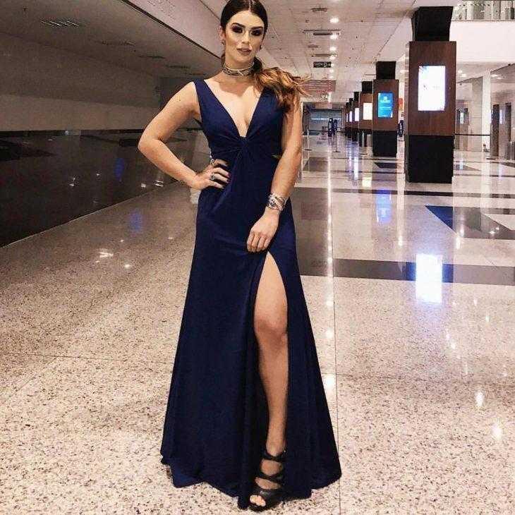 Vestido azul: 60 Modelos que vão do simples aos mais chiques