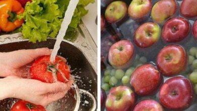 Aprenda eliminar os agrotóxicos das frutas e verduras d