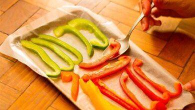 Como congelar pimentão em casa da melhor maneira