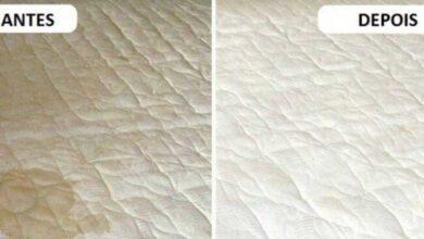 Como remover manchas e odores do colchão
