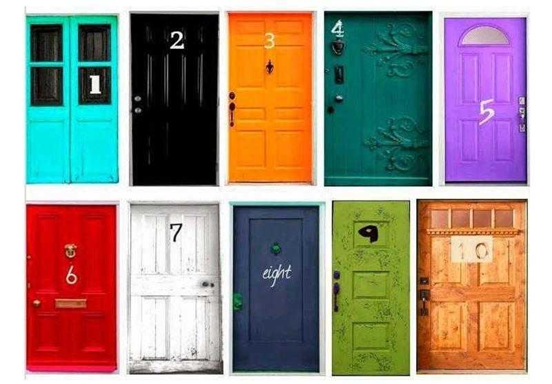 qual das portas você escolheria para entrar rd