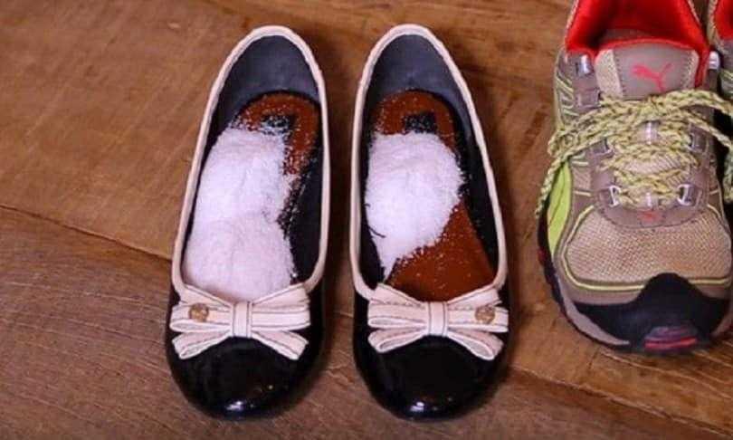 Elimine facilmente o chulé das sapatilhas r
