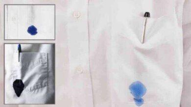 Como tirar mancha de tinta de caneta das roupas