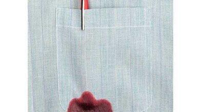 Foto de Como tirar mancha de tinta de caneta das roupas