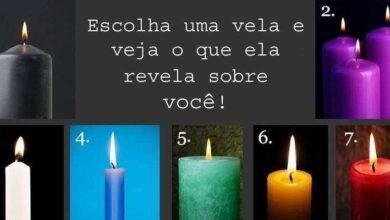 Foto de Deixe a sua intuição escolher uma vela e veja o que ela pode revelar sobre você