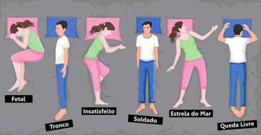 A posição que você dorme diz muito sobre sua personalidade 1