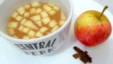 Ochá de maçã e canelaé umadelicia, é digestivo e acelera o metabolismo